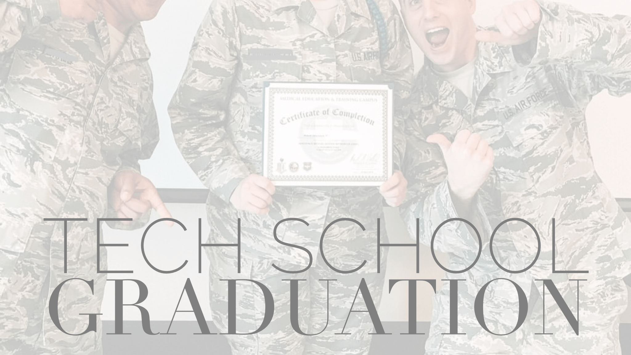 Tech School Graduation : Blush 'N Boots – Beauty, The Military and